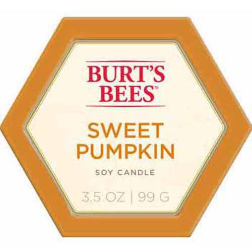 Burt's Bees Candle Tin, Pumpkin Pie