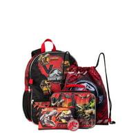 Jurassic World 5 Piece Backpack Set
