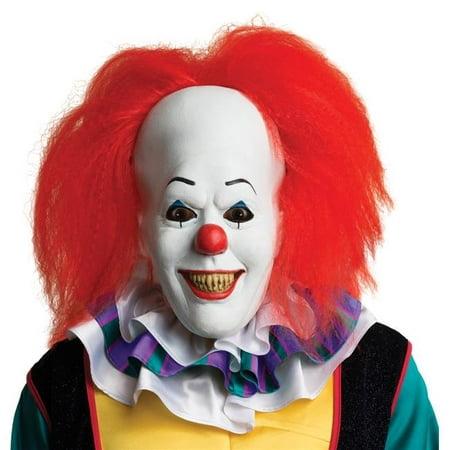 Morris Costumes RU68544 Masque de Pennywise en Latex avec Cheveux - image 1 de 1