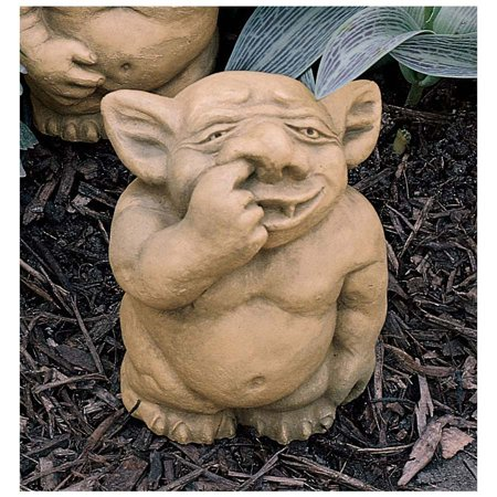 The Picc-a-Dilly Nose Gargoyle Statue - Medium