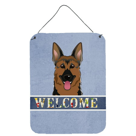 Adult German Shepherd (German Shepherd Welcome Wall or Door Hanging)