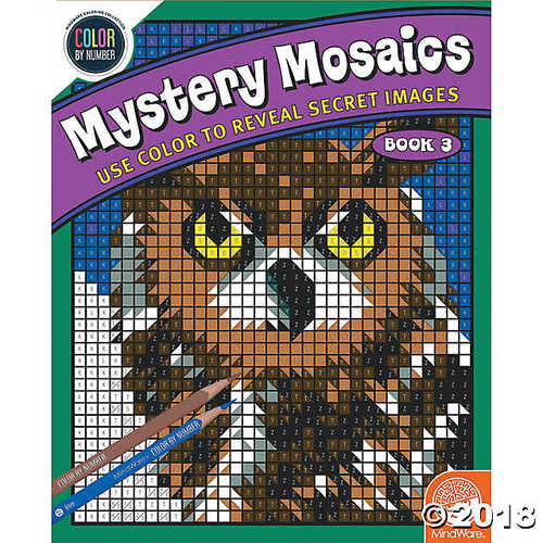 Color by Number Mystery Mosaics: (Book 3)](Color By Numbers Online Halloween)
