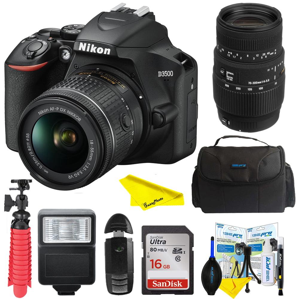 Nikon D3500 Digital SLR Camera + 18-55mm VR DX AF-P Lens