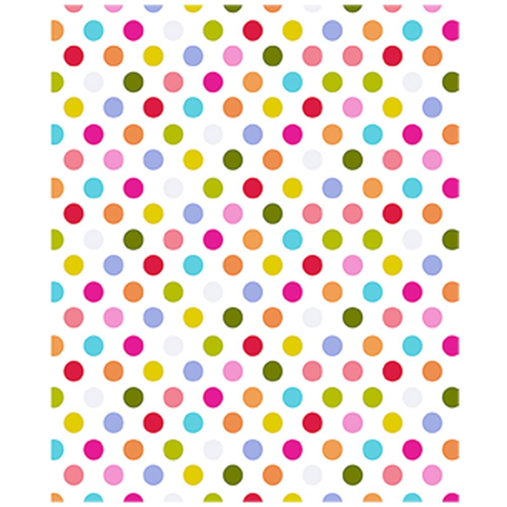 JAM Paper Design Tissue Paper, Pattern Pop Dots, 3 Packs of 4 Sheets
