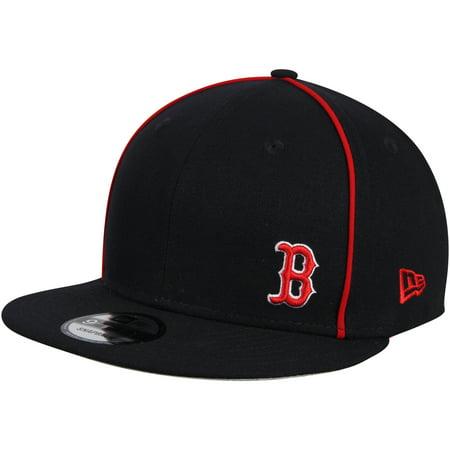Boston Red Sox New Era Y2K Flawless 9FIFTY Adjustable Snapback Hat - Navy - OSFA
