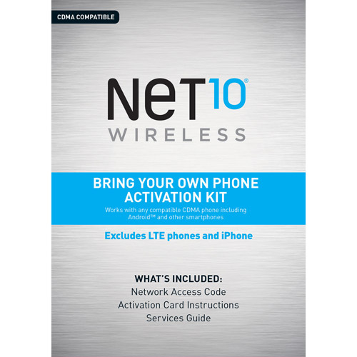Net10 Bring Your Own Phone CDMA Activation Kit
