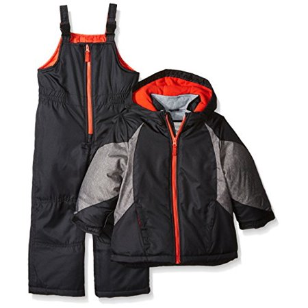 27f2a2502 Carter's Little Boys' Toddler Heavyweight Colorblock Active 2 Pc Snowsuit,  Print, 2T Image