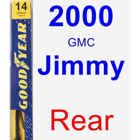 2000 Gmc Jimmy Specs (2000 GMC Jimmy Rear Wiper Blade -)