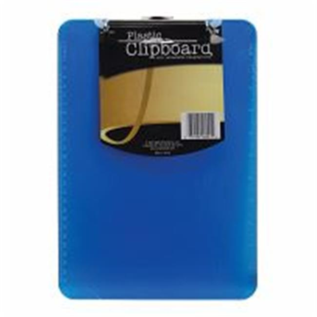 "Plastic Clipboard 9""X12.5""X.5"" Assorted Colors Aw06041"