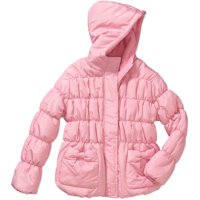 Climate Concepts Little Girls' Solid Bubble Jacket with Bow Pockets (Multiple colors)
