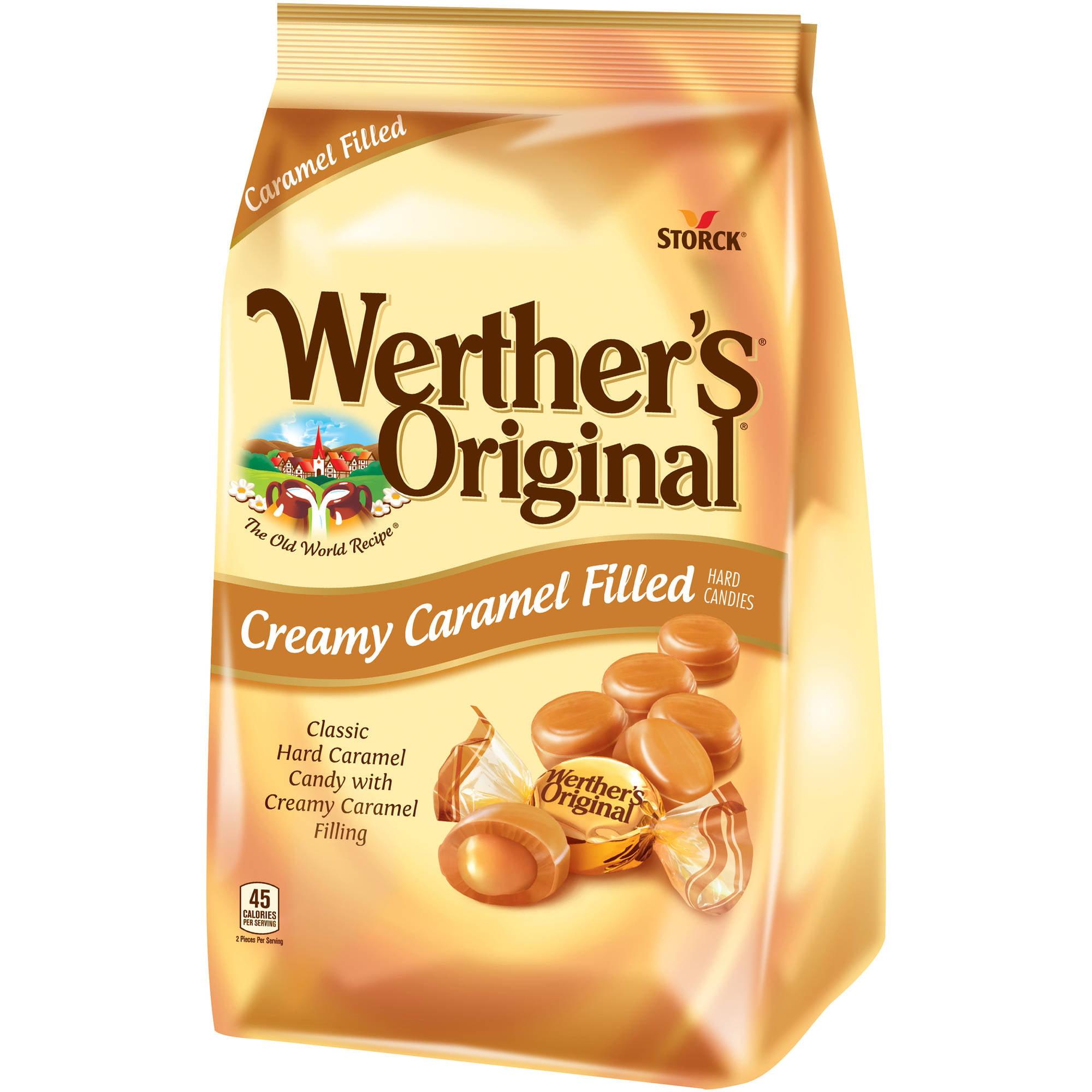 Werther's Original Creamy Caramel Filled Hard Candies, 30 oz