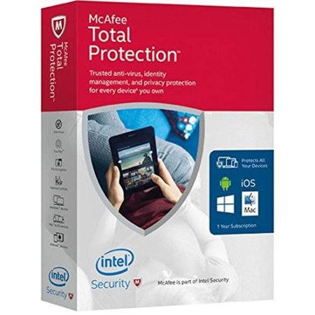 McAfee 2016 Total Protection Unlimited Devices, Key
