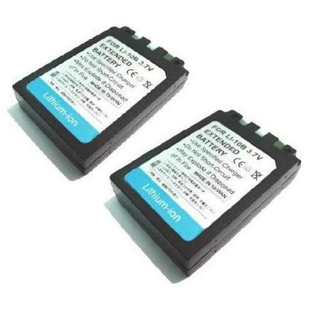 LI-10B Battery X 2 for Olympus Stylus Series Stylus 500 Digital/Stylus 800 Digital/Stylus 810/Stylus 1000/FE-200