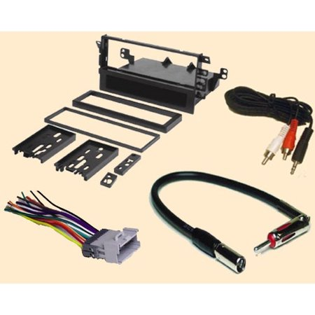 radio stereo install single din dash kit wire harness. Black Bedroom Furniture Sets. Home Design Ideas