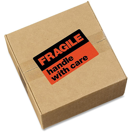 "Avery(R) Fragile Handle with Care Mailing Labels 5283, 3"" x 5"", Pack of 40"