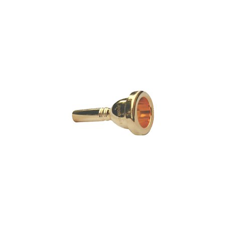 Bach Trombone Mouthpiece, Large Shank in Gold