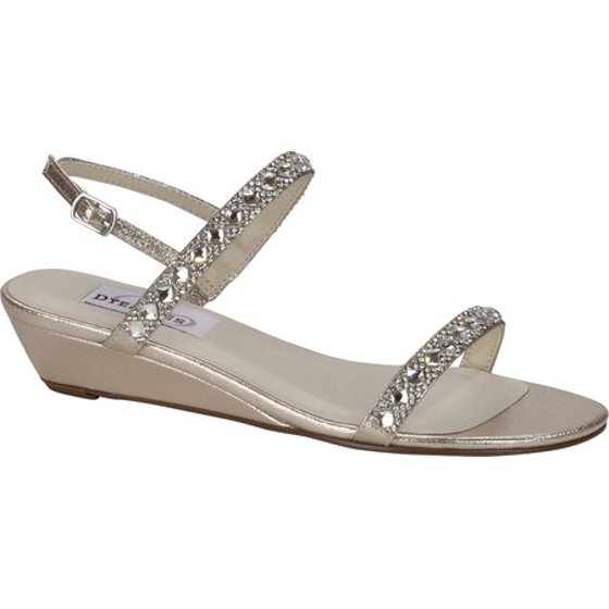 42f9e359169 It features a comfort enabling wedge with a 1 inch height to keep you  moving all night long. Jewels on the straps Adjustable strap and buckle  Comfort ...