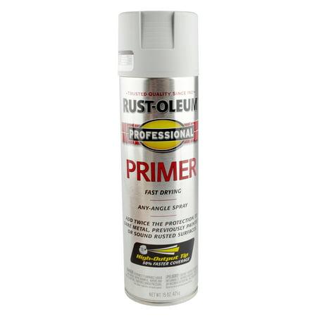 (3 Pack) Rust Oleum Professional Primer, Gray