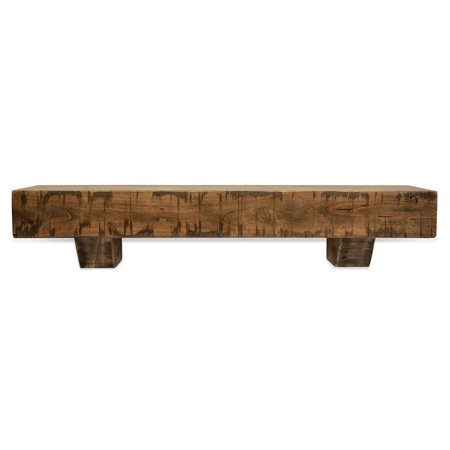 Halloween Decorating Ideas For Fireplace Mantel (48 in. Rustic Aged Oak Fireplace Mantel with)