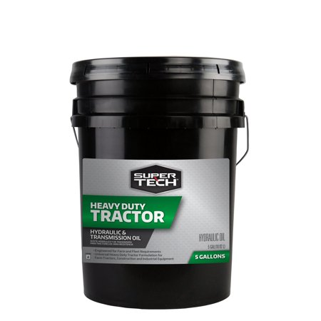 Super Tech Heavy Duty Tractor Hydraulic and Transmission Fluid, 5 Gallon