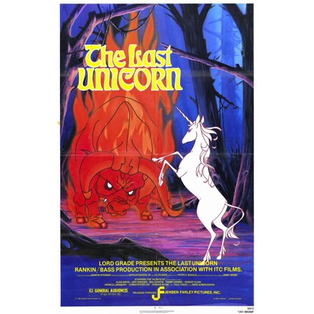 Last Unicorn (1982) 27x40 Movie Poster