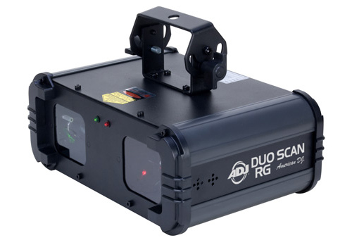 American DJ DUO709 DUO SCAN RG Dual Scanning Lasers W  Red & Green Patterns Factory... by