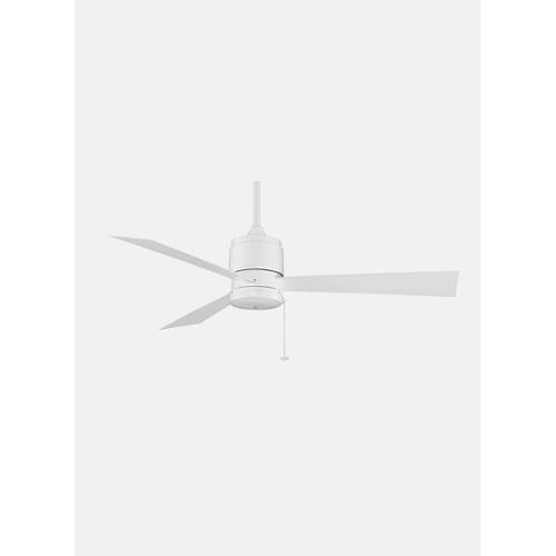 3-Blade Ceiling Fan in White Finish by Fanimation, Inc.
