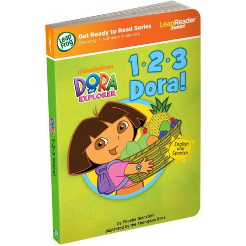 LeapFrog LeapReader Junior Book: 1, 2, 3 Dora (works with Tag Junior)