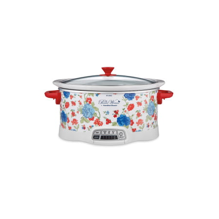 The Pioneer Woman Classic Charm 7-Quart Programmable Slow Cooker
