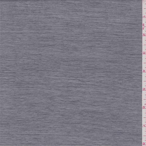 Grey Stripe Polyester Lawn, Fabric By the Yard