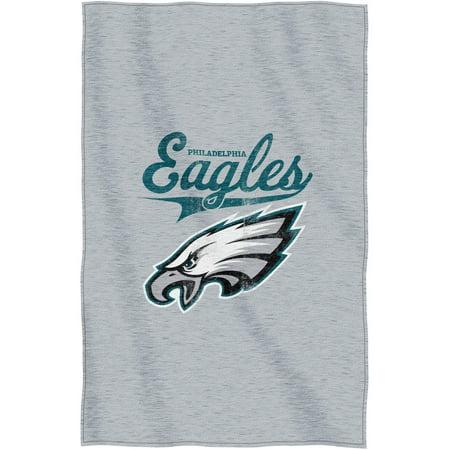 "NFL Philadelphia Eagles ""Script"" 54"" x 84"" Sweatshirt Throw by"