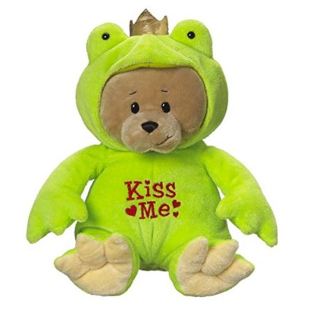 - Ganz Prince Froggy Bear Plush