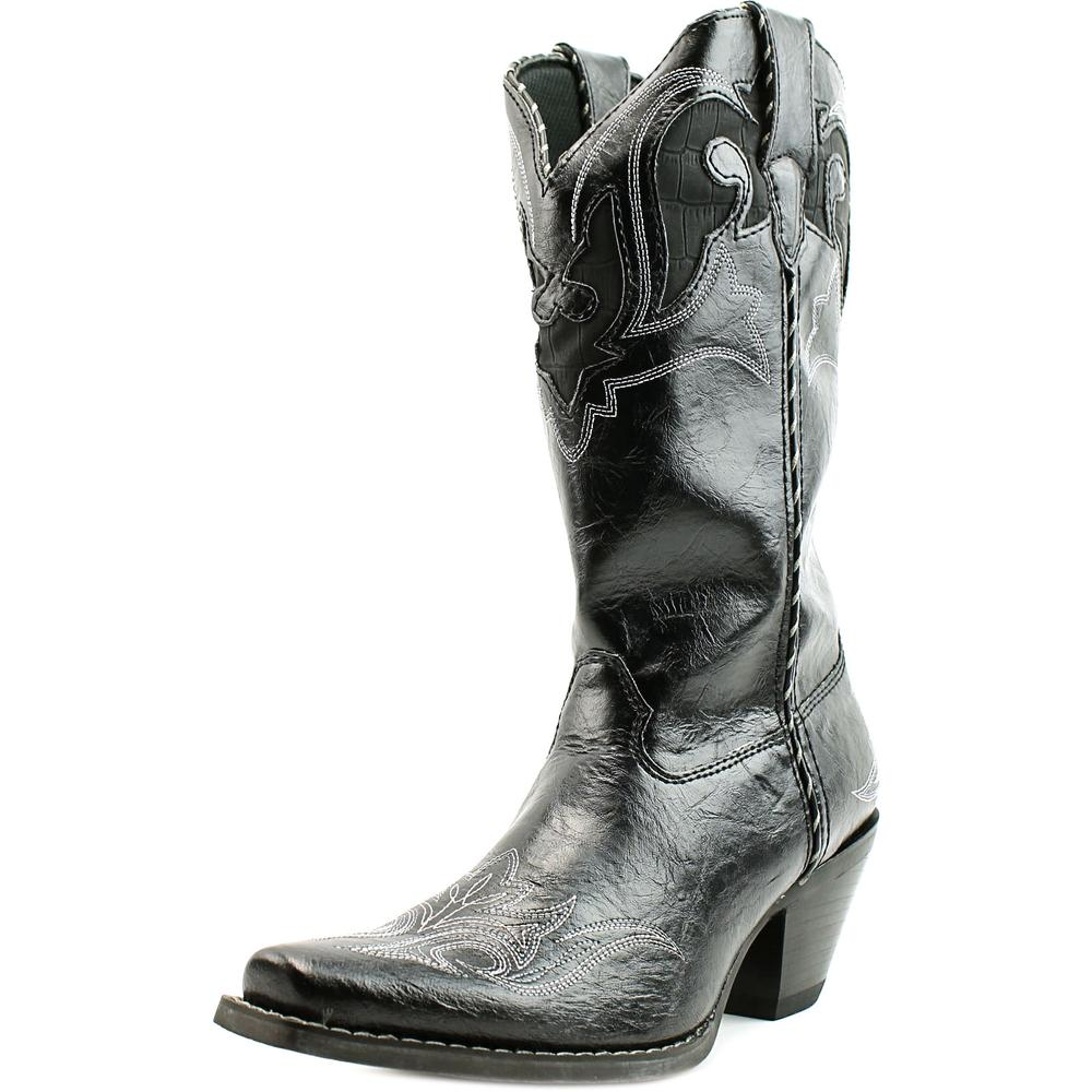 Durango Crush Pointed Toe Leather Western Boot by Durango