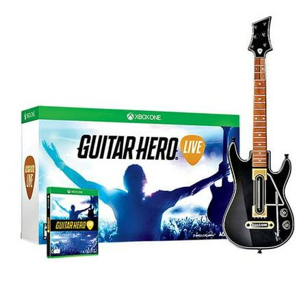 Activision Guitar Hero Live Bundle - Xbox One (Cheapest Place To Get Xbox Live Gold)