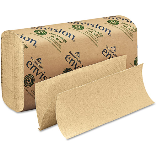 Georgia Pacific Envision Multifold Brown Paper Towel, 250 sheets, 16 ct