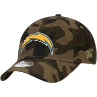Los Angeles Chargers New Era Youth Core Classic Woodland Camo 9TWENTY Adjustable Hat - Camo - OSFA