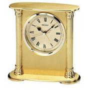 Seiko Gold Brass Desktop Clock