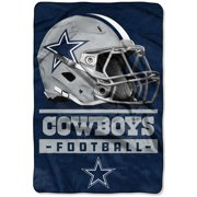 Dallas Cowboys The Northwest Company 60'' x 80'' Sideline Oversized Micro Raschel Throw Blanket - Navy - OSFA
