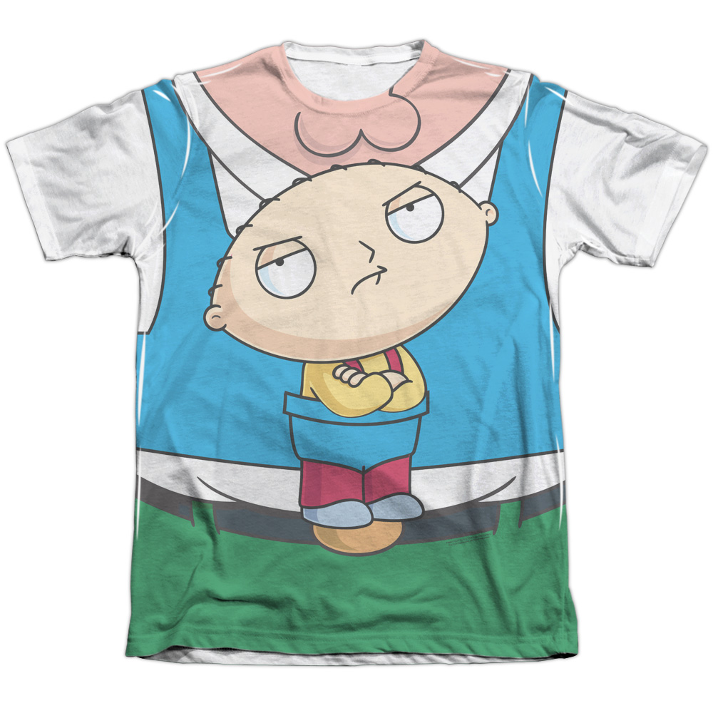 The Family Guy Stewie Carrier Mens Sublimation Shirt