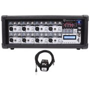 Best Mixer Bands - Rockville RPM85 2400w Powered 8-Ch Mixer, 5 B Review