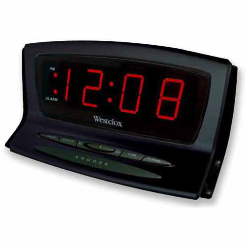 Westclox Instant-Set/Sets Time Automatically Alarm Clock