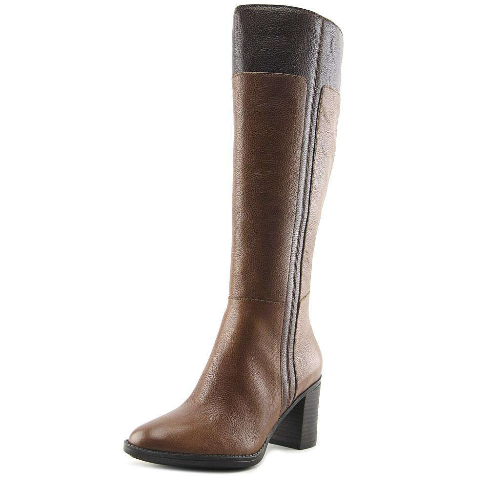 Click here to buy Naturalizer Frances Round Toe Leather Knee High Boot by Naturalizer.