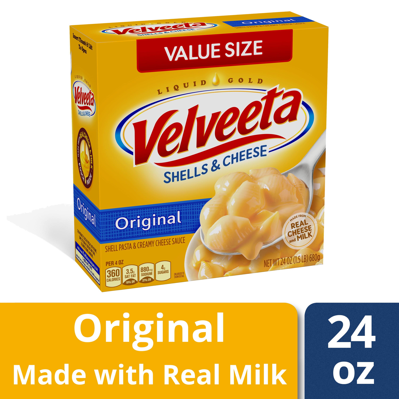 Kraft Velveeta Original Shells & Cheese, 24 oz Box