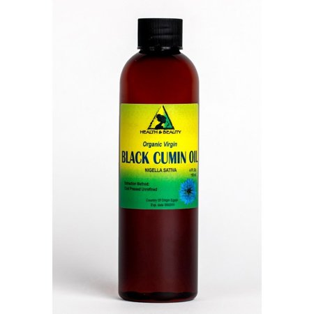BLACK CUMIN SEED OIL UNREFINED ORGANIC VIRGIN RAW COLD PRESSED FRESH PURE 4