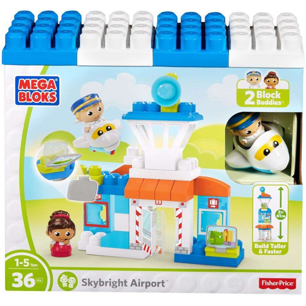 Mega Bloks Skybright Airport Play Set by MEGA Brands, Inc