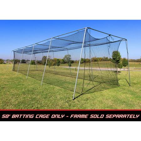 Cimarron 50x12x10 #24 Batting Cage Net Only