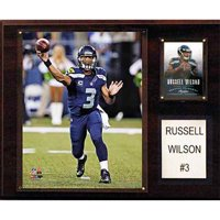 C&I Collectables NFL 12x15 Russell Wilson Seattle Seahawks Player Plaque