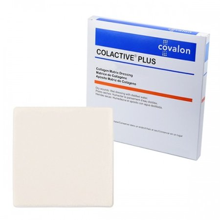 ColActive Plus Collagen Dressing  2 x 2 Inch Sterile, Box of 10 ()