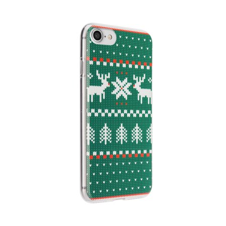 FLAVR iPhone 8/7/6S Green Ugly Xmas Sweater Case - 26975 - image 1 of 1