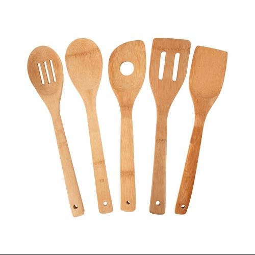 Totally Bamboo 5-Piece Utensil Set Multi-Colored